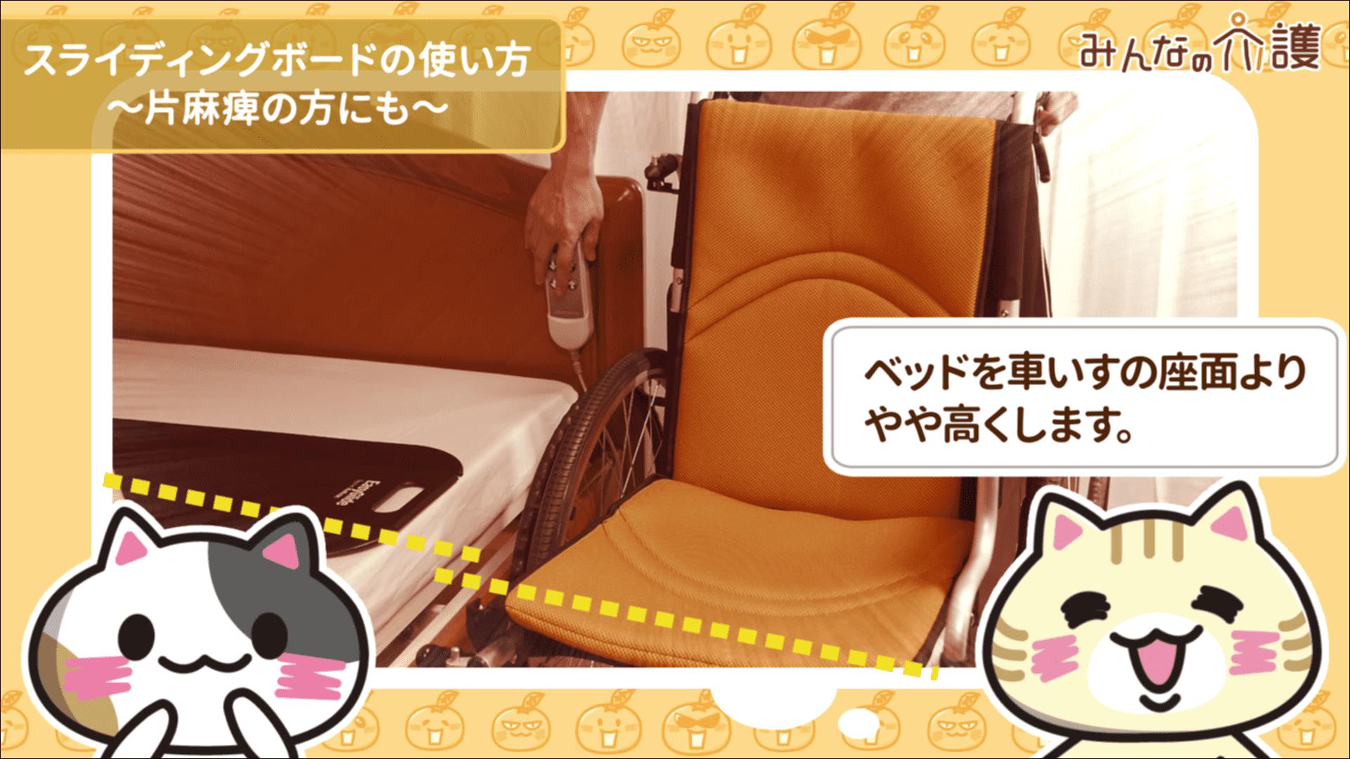 ベッドを高くするイメージ